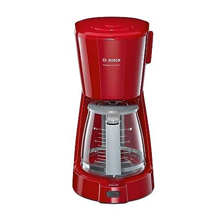 Bosch Cafetera Goteo Tka3a034 Rojo, 1100 W, 59 Cups, plástico ...