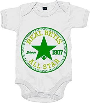 Body bebé Betis All Star - Blanco, 6-12 meses: Amazon.es: Bebé