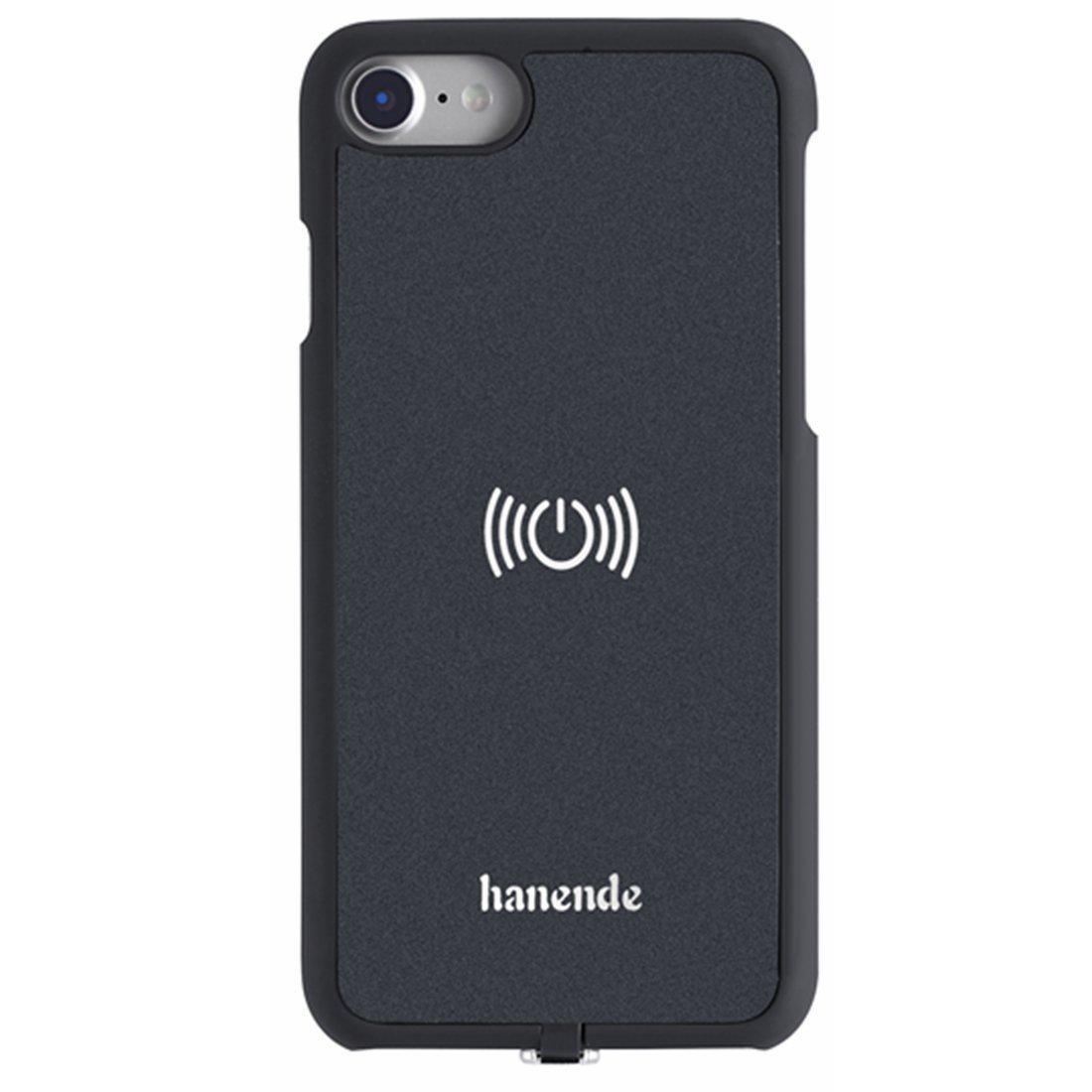 hanende Kit de Cargador Inalámbrico para iPhone 7, Qi Carga inalámbrica Pad y Receptor inalámbrico para iPhone 7 (Negro)