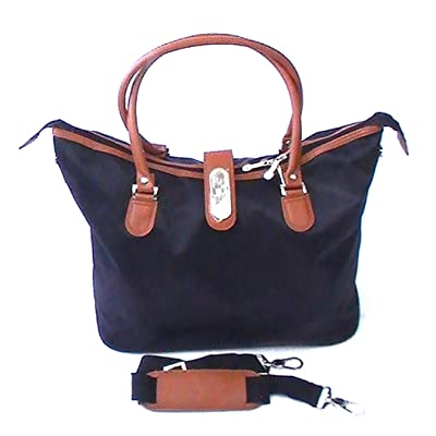 2008355935 cheap Joy TravelEase Light Chic Designer Zippered Tote - Rich Black ...