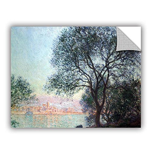 ArtWall Claude Monet's Antibes Art Appeelz Removable Graphic Wall Art, 24 by 32