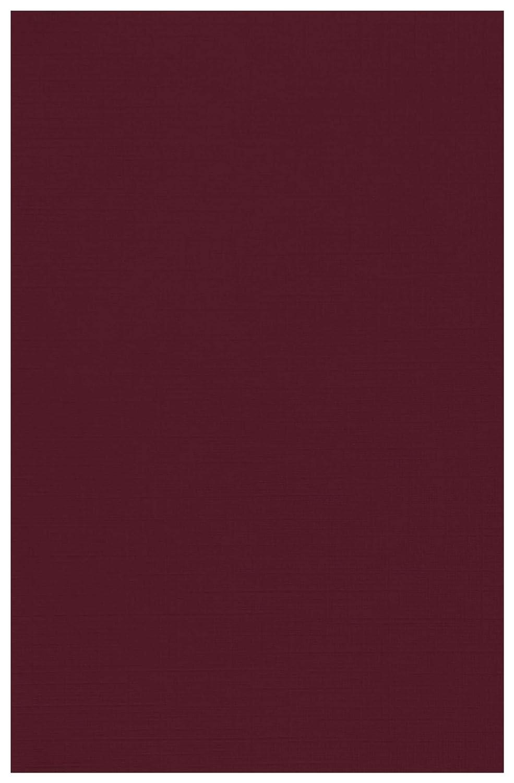 11 x 17 Lux カードストック用紙 250枚入り 11 x 17 レッド B07GHWF896 Burgundy Linen