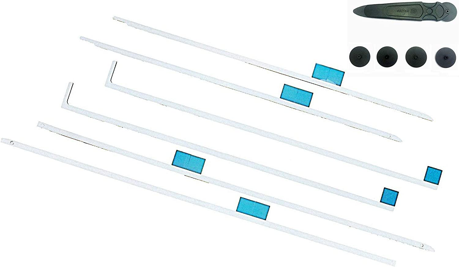 """Ekindspart Replacement for LCD Screen Adhesive Strip Stickers Tape and Opening Tools Apple iMac A1419 27"""" 2012 2013 2014 2015"""