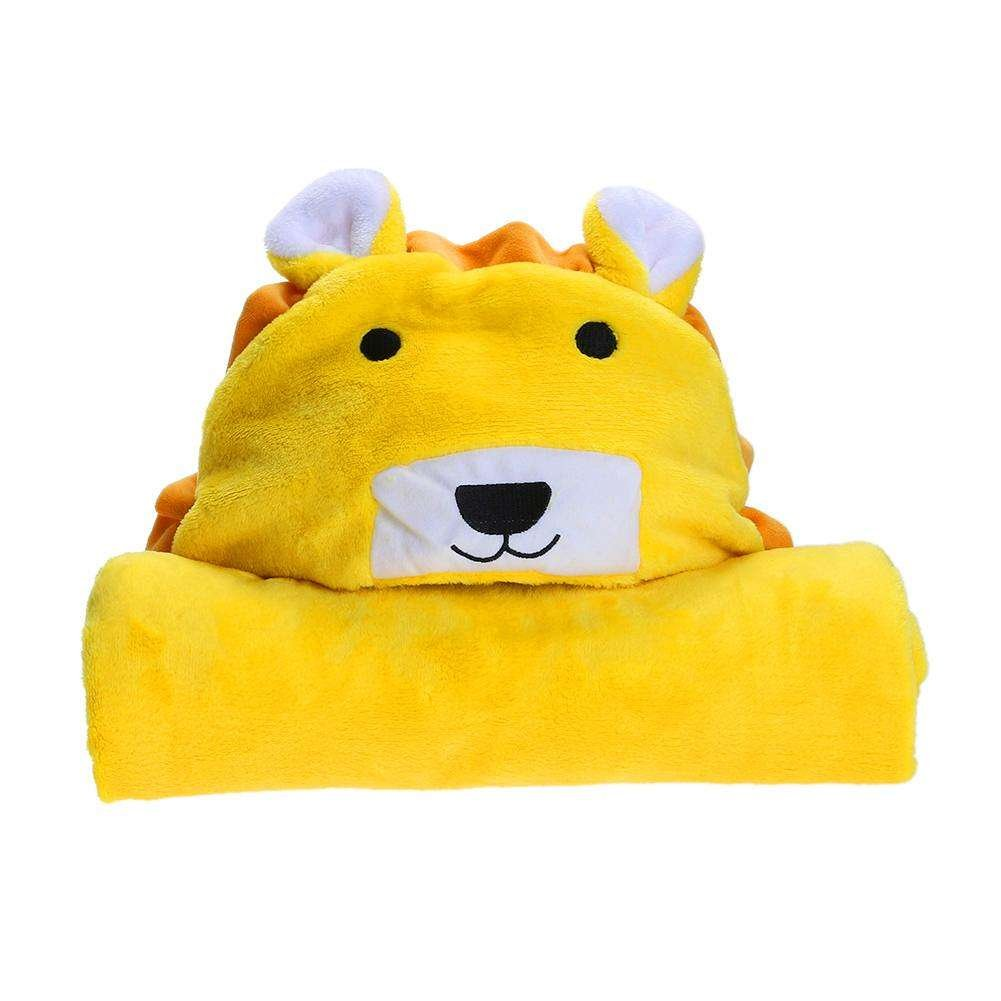 Alpine Exchange Lion Hooded Baby Towel Our Newest Addition To The JUNGLE SERIES Made By Natural Materials Add Adventure To Your Bathroom & Bath Time! Multi-use for the beach