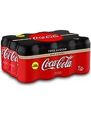 Coca-Cola - Zero Zero, Refresco con gas de cola, 330 ml (Pack de 12), Lata