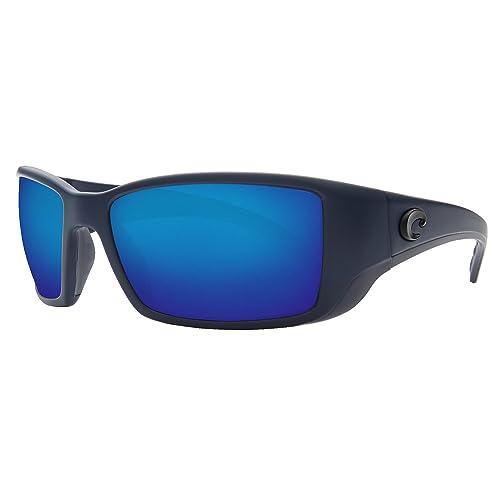 Costa Del Mar Gafas de sol Blackfin, (Midnight Blue/Blue Mirror 580Plastic)