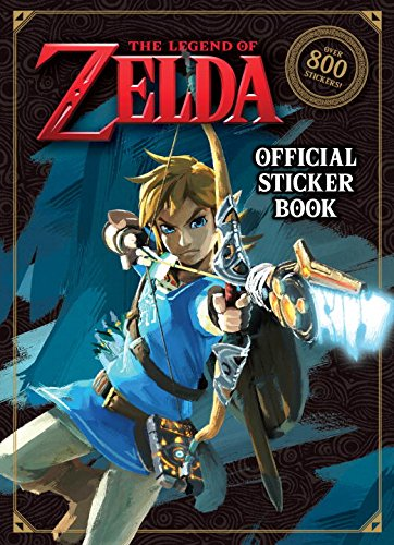 The Legend of Zelda Official Sticker Book (Nintendo) cover