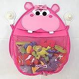 Henrietta Hippo Bath Toy Organizer (Pink)