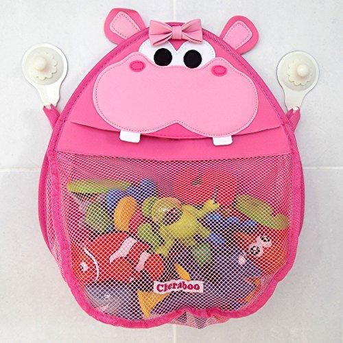 Henrietta Hippo Bath Organizer Pink
