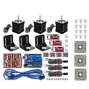 Oumij Impresora 3D Kit CNC, para Arduino +3 Amortiguadores ...