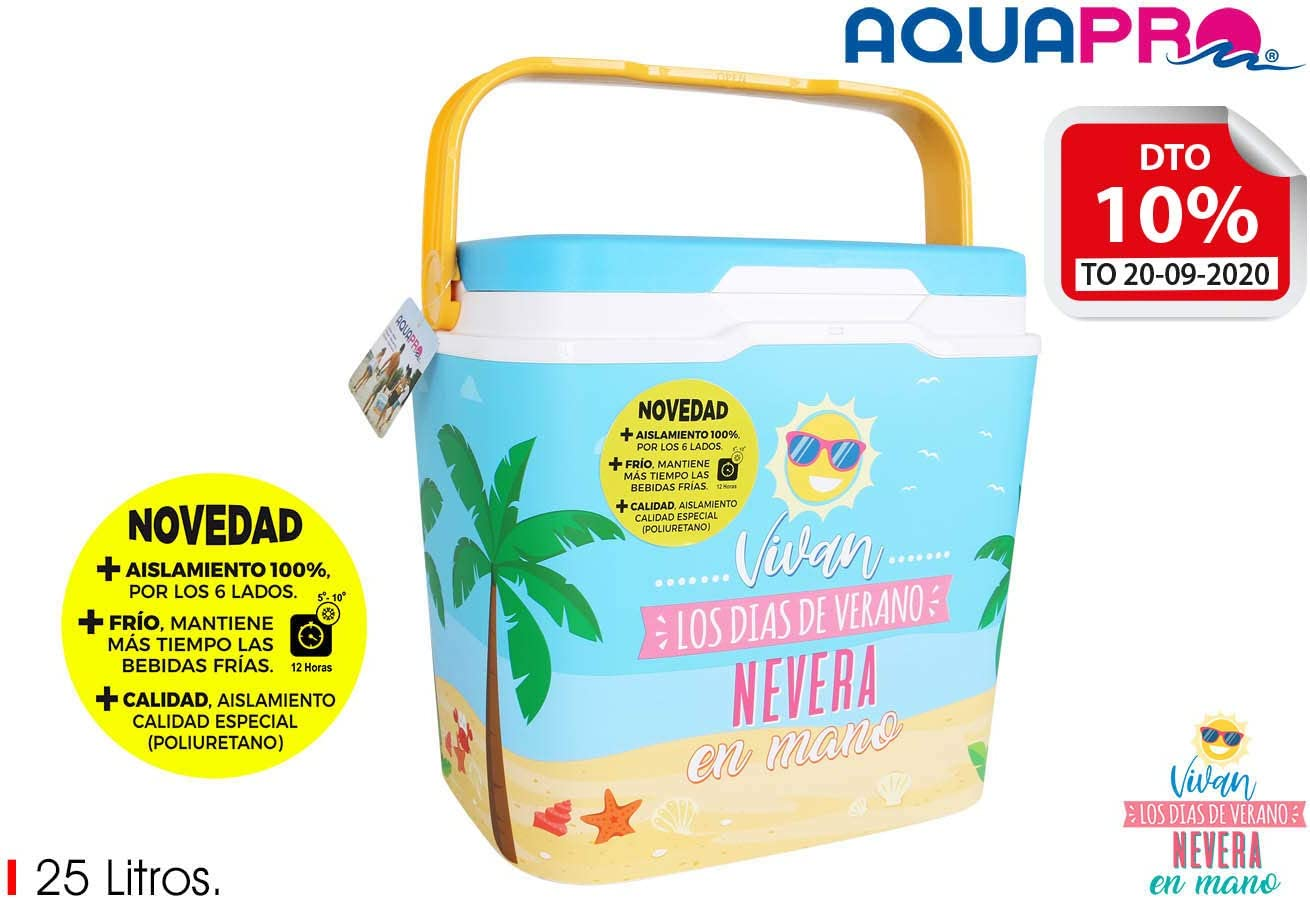 BENEDETTAHOME Nevera IML 25 litros Message AQUAPRO