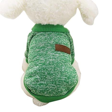 Suéter clásico del perro de animal doméstico Puppy suéter de lana ...