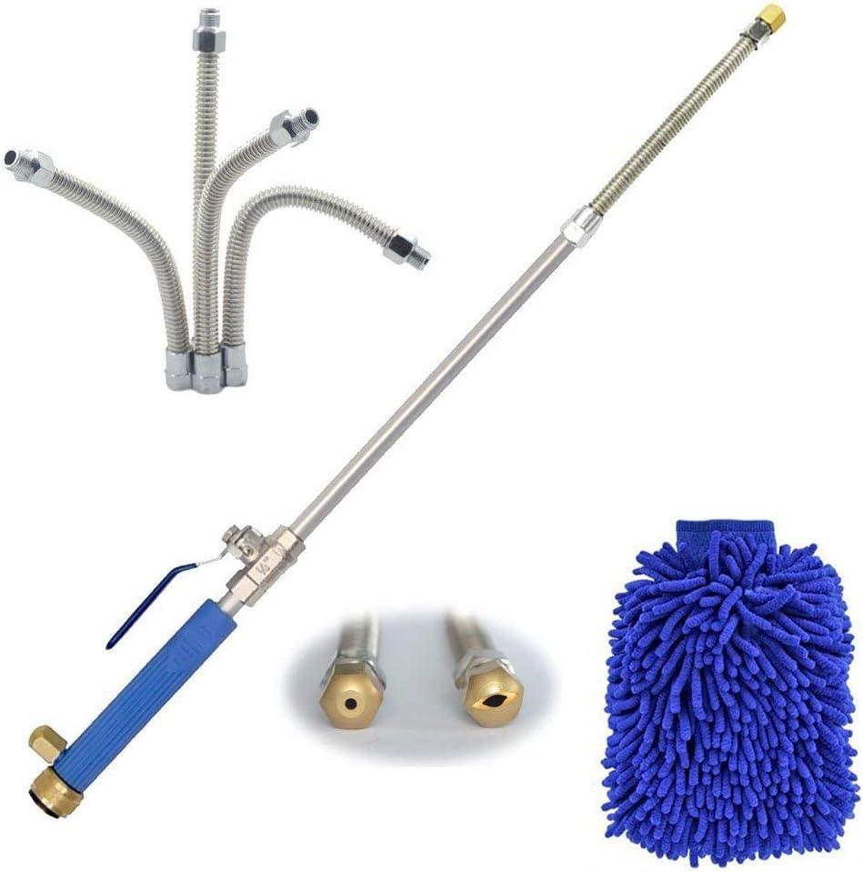 48cm //35cm High Pressure Power Washer Water Spray Gun Wand Nozzle Jet Attachment