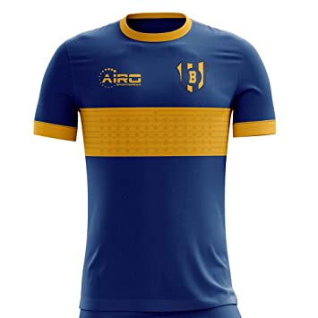 brand new 1a5b2 00ccc Amazon.com : Airo Sportswear 2019-2020 Boca Juniors Home ...