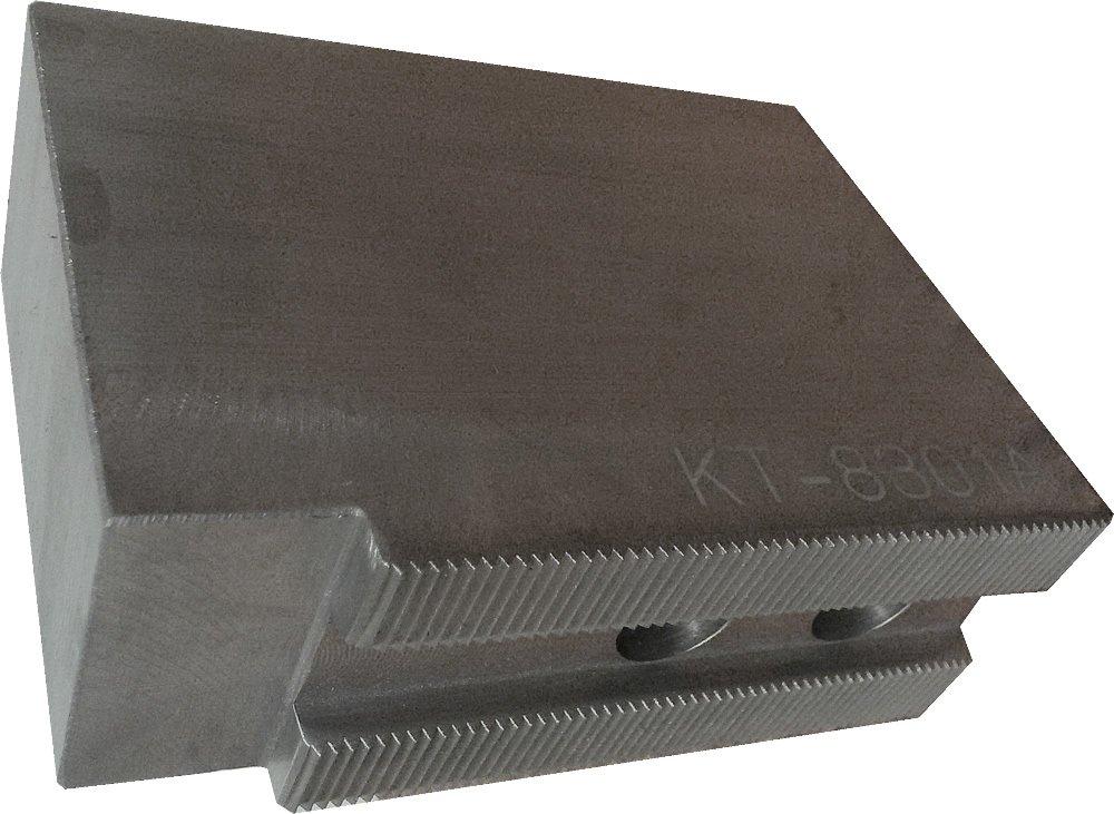 USST KT-8301AF Alum T6061 Flat Soft Chuck Jaws for 8 CNC Lathe Chucks Set of 3 Pieces 3 Tall