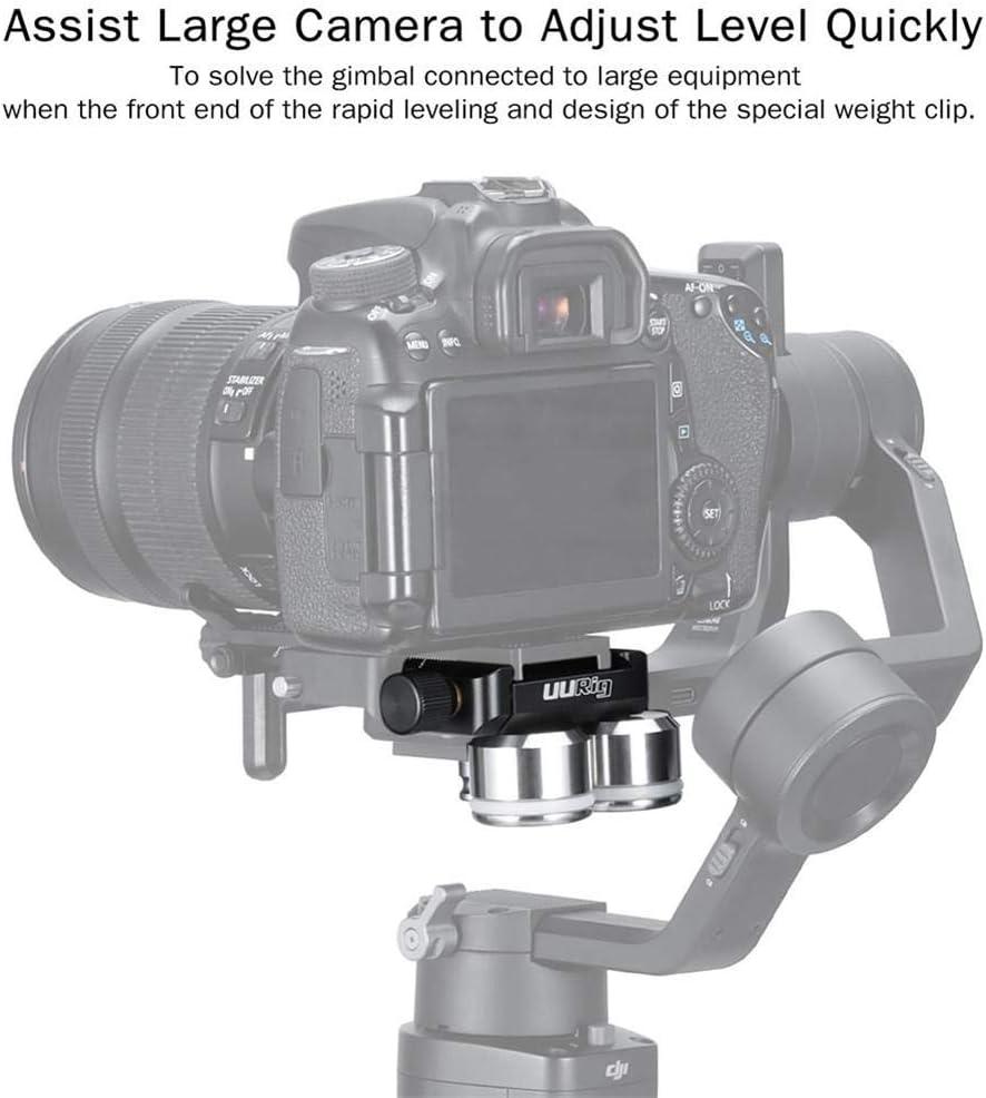 Bogget RO25 Estabilizador de cámara Contrapeso Clip rápido ...