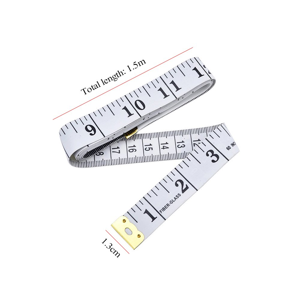 CTGVH Tape Measure Sewing Soft for Body Tailors Tape Cloth Ruler Measure Flexible Measuring Tape