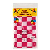 ETMURY Plastic Tablecloth 6 Pack Disposable