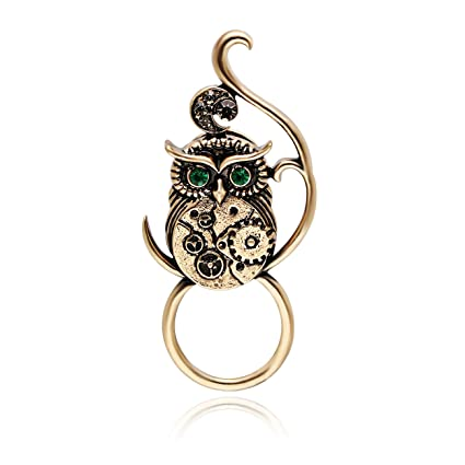 Fast Deliver Noumanda Gold Color Green Crystal Lovely Frog Magnetic Clip Holder Magnetic Pin Pins & Brooches