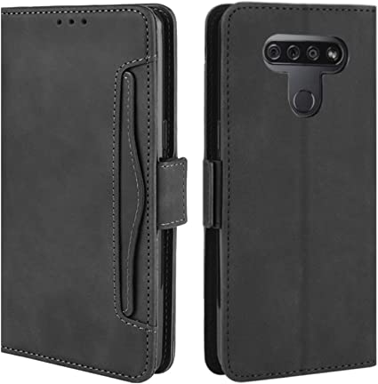 Amazon Com Hualubro Lg K51 Case Lg Reflect Case Lg Q51 Case Magnetic Full Body Protection Shockproof Flip Leather Wallet Case Cover With Card Slot Holder For Lg Q51 Lg K51 Phone