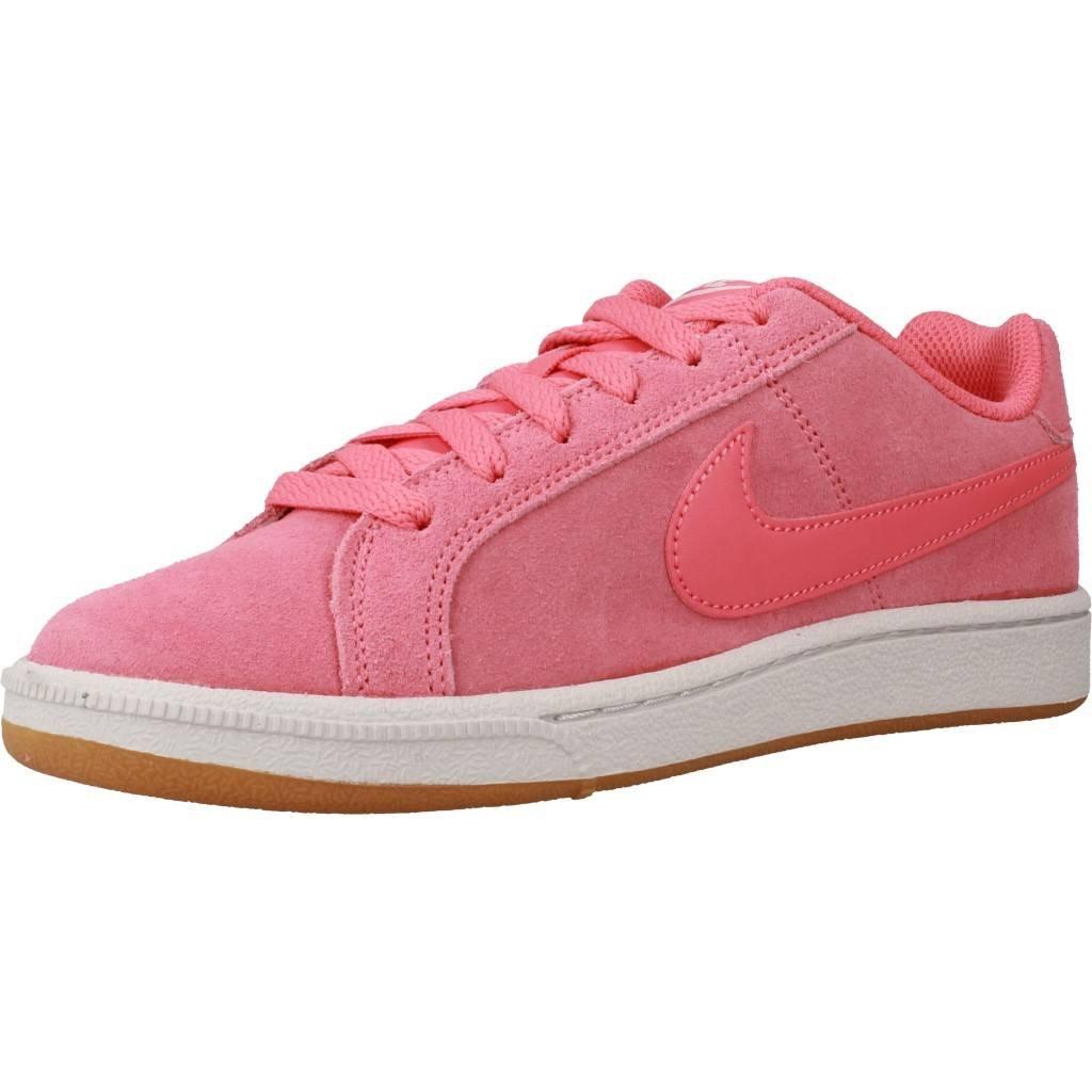 Nike Wmns Court Royale Suede, Zapatillas de Gimnasia para Mujer 36.5 EU|Rosa (Sea Coralsea Coralgum Light 800)
