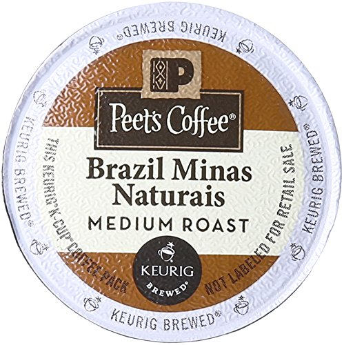 Peet's Coffee & Tea Coffee Brazil Minas Naturals K-Cup Porti