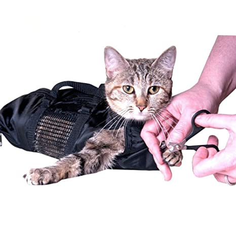 Bolsa De Aseo De Gato, Bolsa De Sujeción De Gato, Mordeduras Y Arañazos Resistente