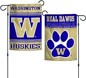 "WinCraft Washington Huskies 12""x18"" Garden Flag"