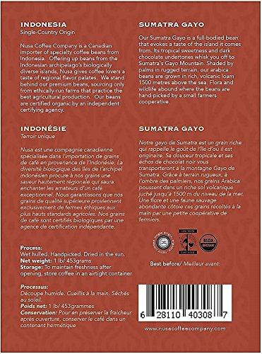 Amazon com : Nusa Coffee Sumatara : Grocery & Gourmet Food