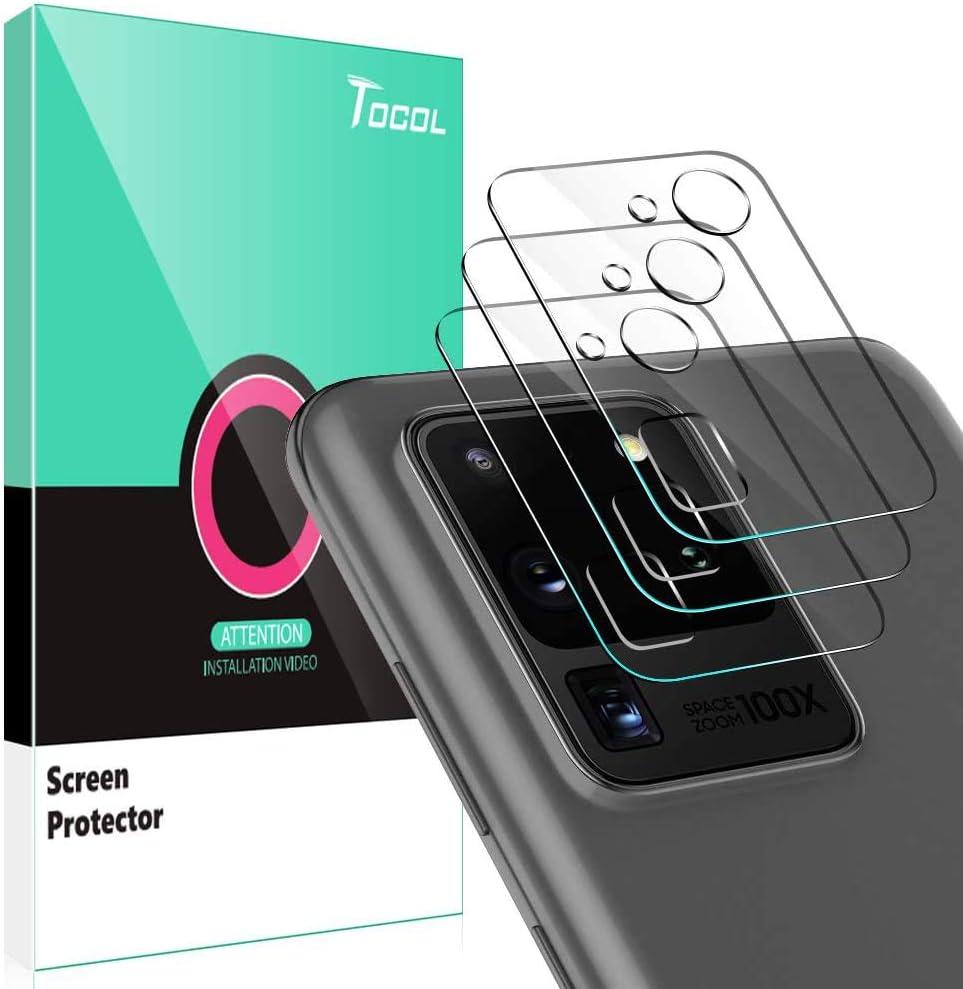 Protector de Lente Samsung Galaxy S20 Ultra 5G (6.9) (3uni)