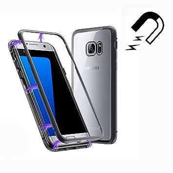 Funda Samsung Galaxy S7 Edge, [Adsorción Magnética] Marco de ...