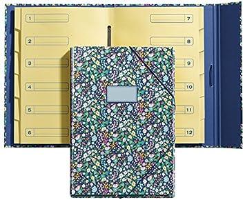 Jordi Labanda 20003 - Carpeta separadores wildflowers: Amazon.es: Oficina y papelería