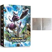 Album Compatible Con Cartas de Pokemon, Album Compatible Con Pokemon Para Cartas, Álbum de Pokemon, Carpeta compatible…