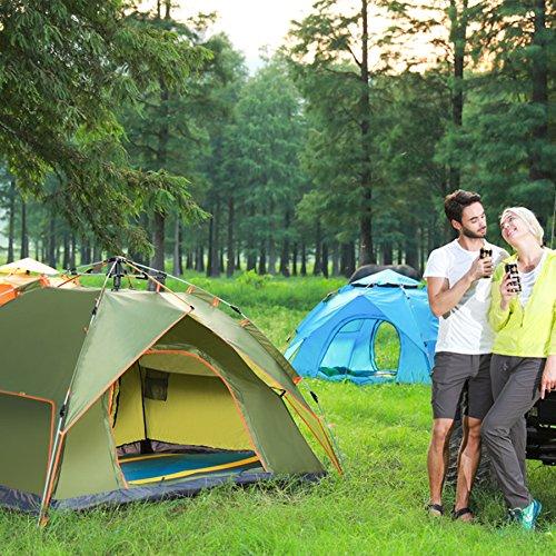 食用死にかけている説明ESHOWODS ポップアップテント ワンタッチ テント 超簡単 楽々 設営 2way 2サイズ サンシェード キャンプ アウトドア 登山 防災 軽量