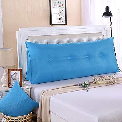Amazon.com: YAO - Cojín de algodón y lino para cama de ...