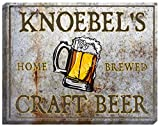 "KNOEBEL'S Craft Beer Stretched Canvas Sign - 16"" x 20"" offers"