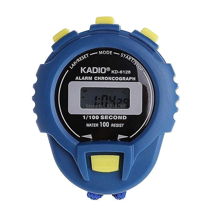 b22956ca3f68 SSXY Cronómetro Temporizador de cuenta regresiva Reloj digital de mano Cronómetros  deportivos