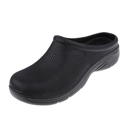 Baoblaze Zapatos Antideslizantes Acolchado Suave Antimicrobiano Cómodo - Blanco, UE 41