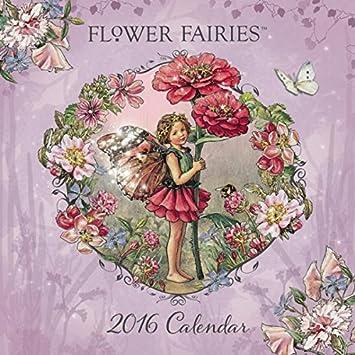 Calendario de 2016 de hadas y flores de paisaje FEERIQUE ...