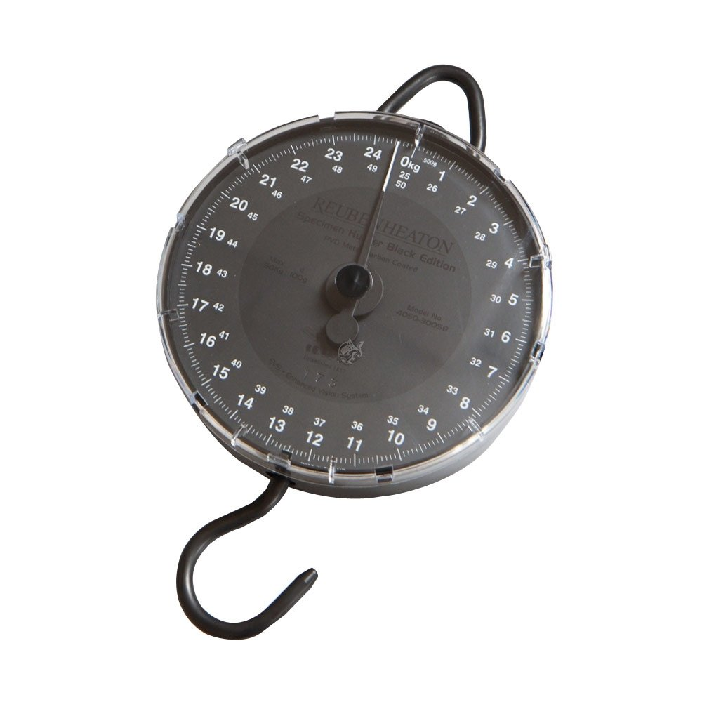 Reuben Heaton Specimen Hunter Black Edition Scale 50kg