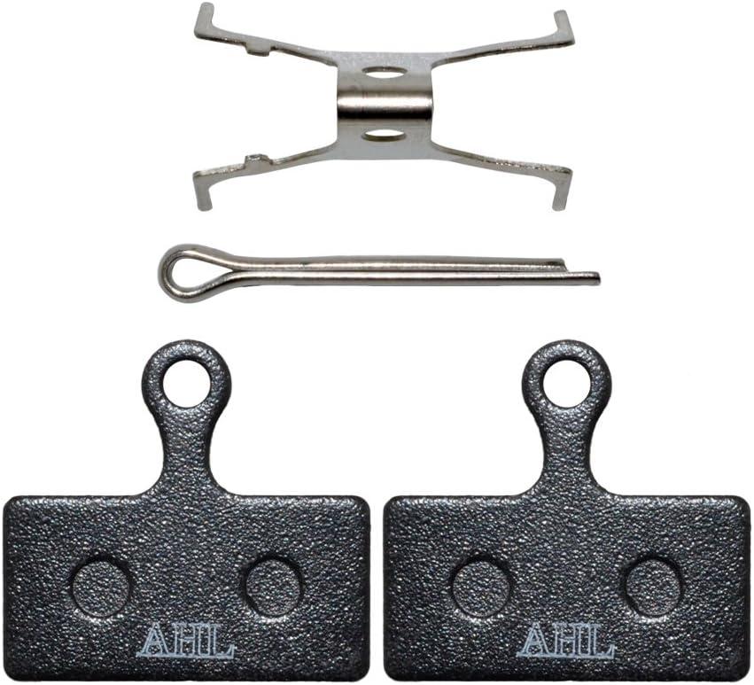 AHL Bicycle Semi-Metallic Disc Brake Pads for Shimano XTR M985 2011 M988 Deore XT M785 SLX M666 M675 Deore M615 Alfine S700 MTB Bike