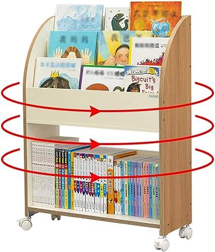 Librerías Estantería móvil de 360 Grados Libros ilustrados ...