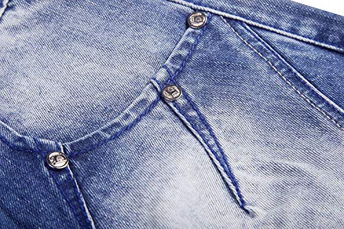 Slim Regular Dritti Wash Casual Vintage Pantaloni Especial Blu Stone Fit Aderenti Da Estilo Uomo Jeans wdxXPqYd