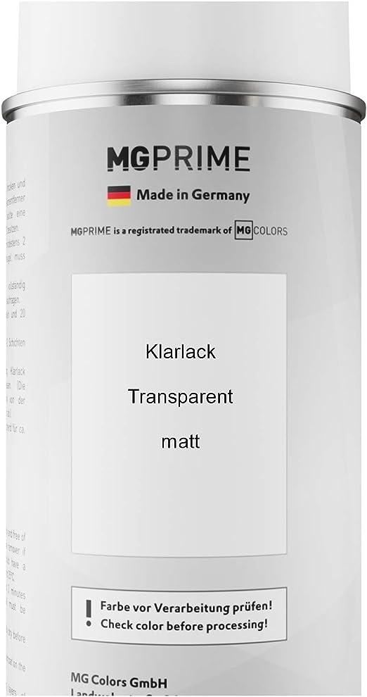 Mg Prime Autolack Sprühdosen Set Für Bmw 955 Weissaluminium 3 Metallic Matt Basislack Klarlack Spraydose 400ml Auto