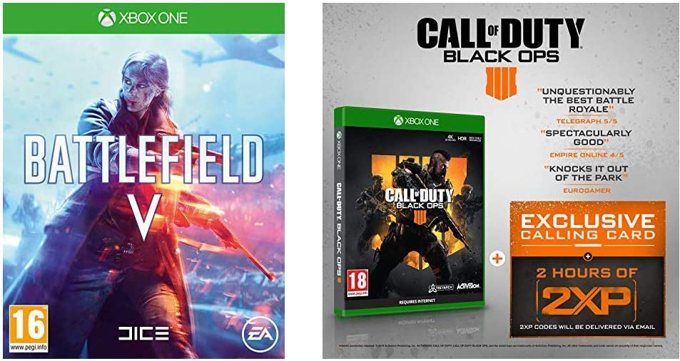Battlefield V + Call of Duty: Black Ops 4 - - Xbox One [Importación inglesa]: Amazon.es: Videojuegos