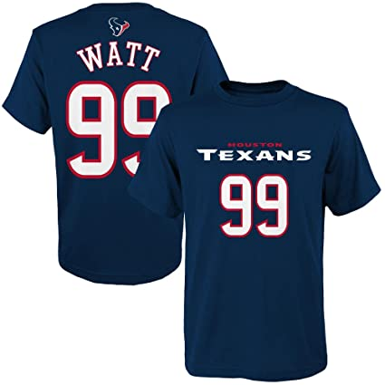 Amazon.com  J.J. Watt Houston Texans Toddler Navy Jersey Name and ... 7afadd671