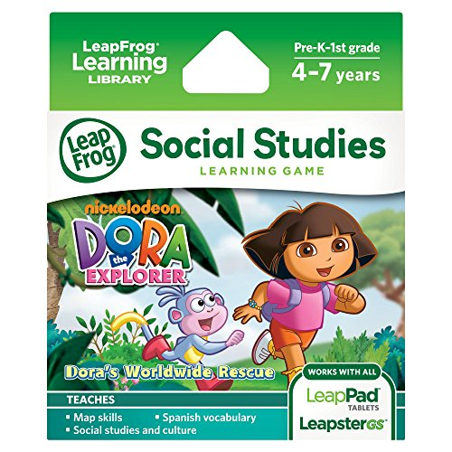 LeapFrog Dora the Explorer Learning Game (works with LeapPad Tablets and LeapsterGS) (Platinum Dora)