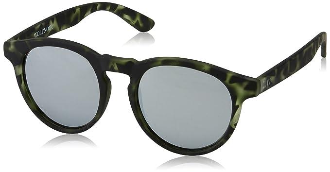 a basso prezzo 09d0f 55af1 Wolfnoir Hathi Silver Green Occhiali da Sole, Multicolore ...