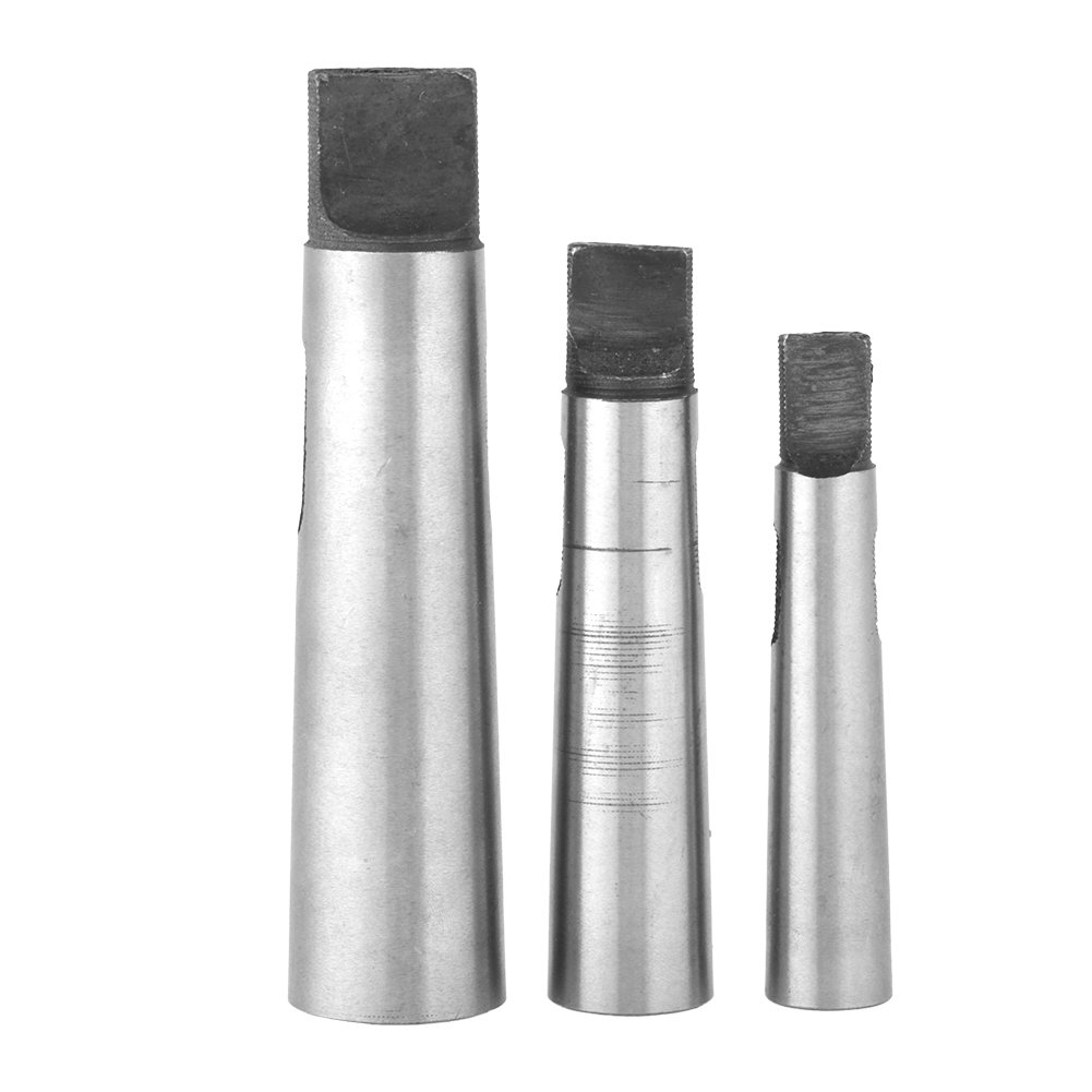 3 pcs/Set MT1- MT2 MT2- MT3 MT3- MT4 Taper Adapter Reducing Drill Chuck Sleeve Lathes Machine Part Wal front