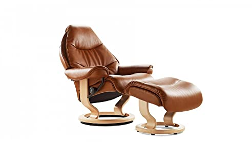 Stressless sessel schmal  Stressless® Voyager Sessel mit Hocker (M) günstig: Amazon.de ...